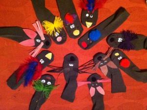 Sock-puppets