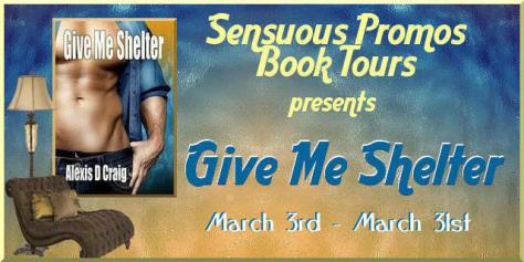 Give Me Shelter Book Tour Graphic