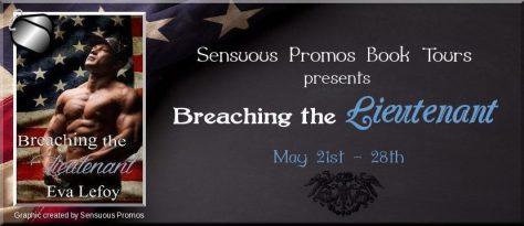 Eva Lefoy Book Tour - Breaching the Lieutenant