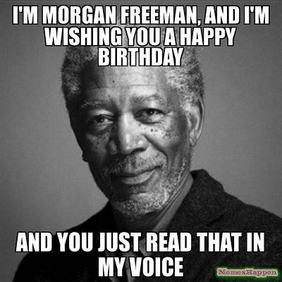 morgan freeman birthday wish