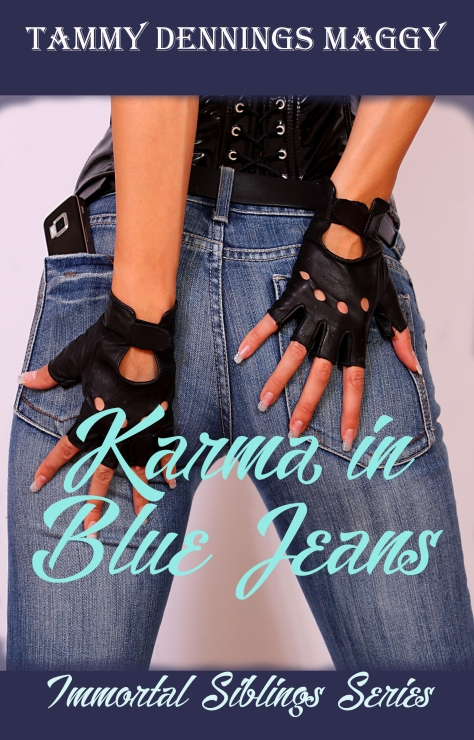 Karma in Blue Jeans Cover first one